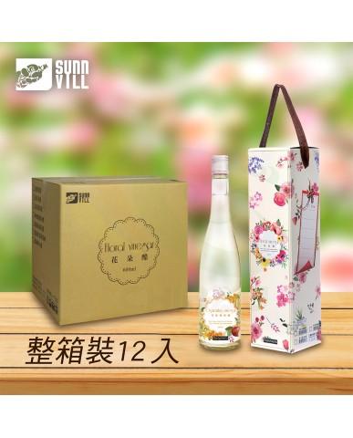 【漆寶】《花果椿妝》禮盒│即飲-桂花蘋果醋