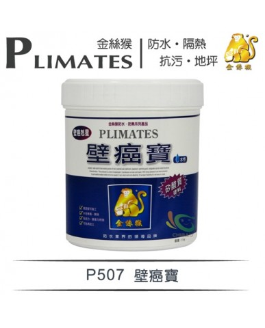 【漆寶】金絲猴│壁癌寶P-507
