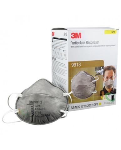 【漆寶】3M 9913活性碳碗型口罩